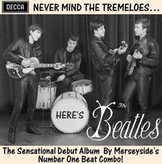 January 1: On this day in 1962, The Beatles auditioned for Decca in London.