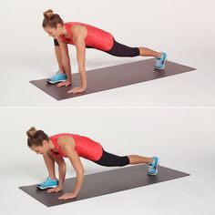 Get a better butt with this easy lunge variation, called the Runner's Lunge With Push-Up.