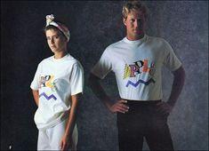 あのApple社が80年代に展開していたアパレルラインのカタログ画像 - DNA