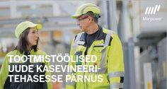 TOOTMISTÖÖLINE (Pärnu, Metsä Wood Eesti)   Tööpakkumised Tallinnas ja mujal Eestis ning Soomes - Kandideeri!