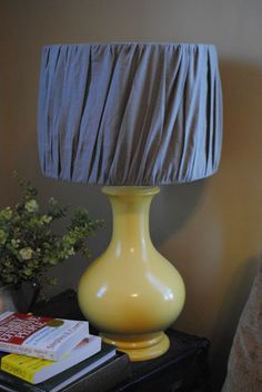 easy pleated lampshade