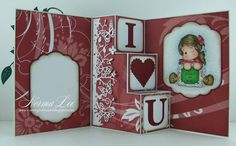 Valentine 3-Step Card (view 2 of 2 - card inside) by Norma25 - Cards and Paper Crafts at Splitcoaststampers