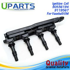 UPARTS Ignition Coil For Opel Vectra Astra Zafira Corsa Meriva Sinum Tigra TwinTop/SAAB9-3/Vauxhallvectra Astra MK1208008 Ignition Coil, Opel Vectra, Poland