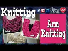 23 Insanely Clever Arm Knitting Projects and Techniques - DIY & Crafts
