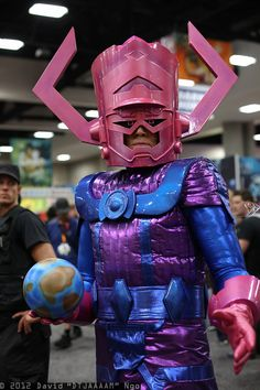 "Galactus (Epic Helmet make!) San Diego Comic-Con 2012 - Sunday - Cosplay Photos from David ""DTJAAAAM"" Ngo 