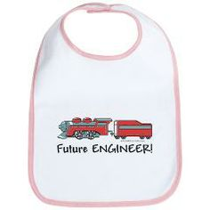 Future Train Engineer Bib > Unique Baby Gifts - Future Engineer > Unique Baby Gifts