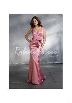 Robe de Soirée Longue-Fleuri A-ligne de luxe robe de soirée AXED353