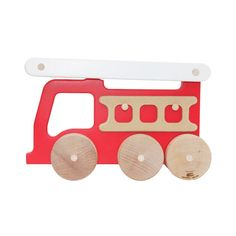 Shop for the Fire Truck. Wood push toys with character are easy for little hands to grab and spark the imagination. Explore our selection of high-quality children's toys.