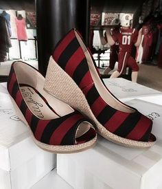 University of South Carolina Wedges - Miss Cocky #MissCocky #Gamecocks