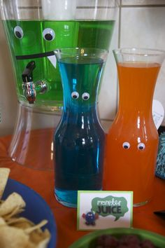 monster birthday party menu  The googly eyes help me to trust them, because now…
