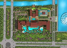 Shangri-La Zhoushan Shangri La, Master Plan, Beach Hotels, City Photo, Layout, How To Plan, Page Layout
