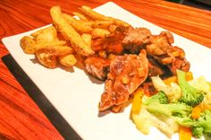 BBQ ribs  Restaurante Jade Mar Drake Bay, Osa Peninsula Costa Rica #food #foodie #travel #family #vacation
