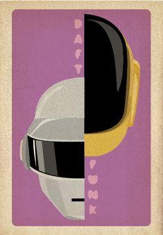 Daft Punk // Gig Poster