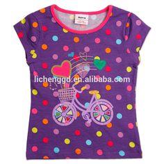 (K2512) 2-6y Nova t shirts for baby girls polka dot short sleeve girls top summer, View girls top summer, NOVA Product Details from Dongguan Tongxing Garment Co., Ltd. on Alibaba.com