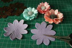 The coupons' Zaciszu: How to make daisies I, II, III and IV