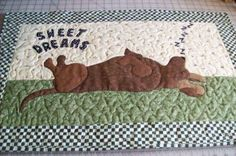 The blanket my child will have. Dog Quilts, Cute Quilts, Animal Quilts, Baby Quilts, Dapple Dachshund, Dachshund Love, Daschund, Weenie Dogs, Shelter