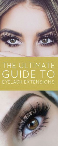 If you've ever wanted to try eyelash extensions start here first! I didn't realize there was so much to know! So glad I saw this!
