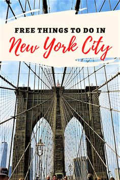 New York City is known as one of the most expensive destinations in the world. However, there are plenty of free things to do in NYC, to help you save some money. Here are 10 free NYC attractions you can't miss, especially if it's your first time in New York City. #NYC #Budgettravel #USA #NewYorkCity Best Places To Travel, Cool Places To Visit, Travel Guides, Travel Tips, Free Nyc, New York Attractions, Visiting Nyc, Road Trip Adventure, New York City Travel