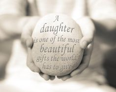 Daughter Print Daughter Quote Print Baby by OceanDropPhotography, $21.00
