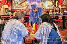 Heart Attack grill restaurant in Las Vegas Las Vegas Attractions, Las Vegas Restaurants, Vegas Vacation, Las Vegas Trip, Heart Attack Grill, World Chef, Heart Of Vegas, Las Vegas Food, Cool Restaurant