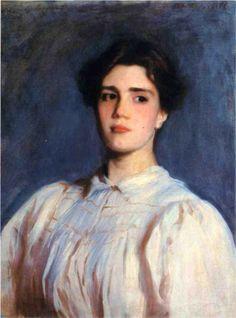 Portrait of Sally Fairchild, 1885  John Singer Sargent