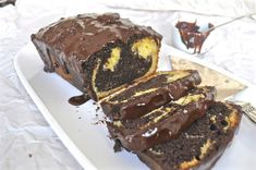 Chocolate Orange Marble Loaf Cake and a Giveaway - Ciao Chow Linda Loaf Cake, New Cookbooks, Chocolate Orange, Chow Chow, Dessert Recipes, Desserts, Ice Cream, Baking, Marble