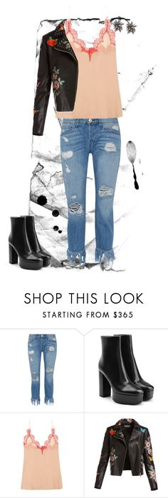 """""""Sin título #195"""" by majo-mv on Polyvore featuring moda, 3x1, Alexander Wang, Gucci, Bagatelle y Alexis Bittar"""