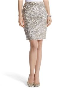 2ab6957cea6 Is it wrong to yearn to own a skirt that I might wear once.. Sparkly  SkirtSequin Pencil ...
