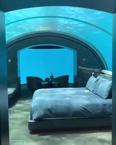 Travel Discover The Muraka Underwater Hotel Room at Conrad Maldives. Beautiful Places To Travel, Cool Places To Visit, Romantic Travel, Romantic Vacations, Vacation Places, Dream Vacations, Italy Vacation, Vacation Spots, Maldives Travel