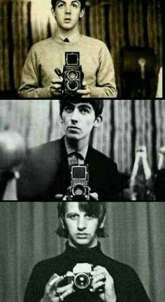 damn straight the beatles invented the selfie
