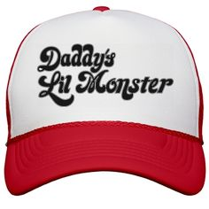 """Daddy's Lil Monster Hat 