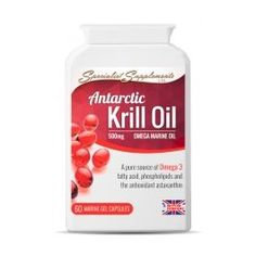 Antarctic Krill Oil gel caps - Product summaryAntarctic Krill Oil (Euphausia superba) is a pure and natural source of high concentration omega 3 oil, the powerful antioxidant astaxanthin, as well as high levels of phospholipids - a fundamental component o