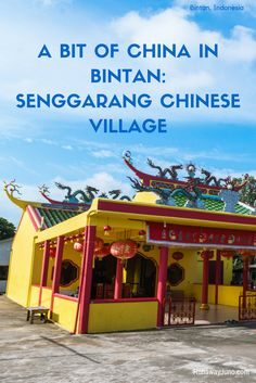A short distance away from Tanjung Pinang, Senggarang is a small village on…