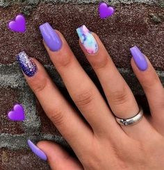 Do you love nail designs? So do we! Today we have 20 Trending Nail Designs That … Do you love nail designs? So do we! Today we have 20 Trending Nail Designs That You Will Love! How do we know that you will love them? Well, because we love them! Purple Nail Designs, Acrylic Nail Designs, Nail Art Designs, Bed Designs, Nails Design, Summer Acrylic Nails, Best Acrylic Nails, Nails Summer Colors, Nail Summer