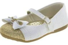 Sapato Infantil Feminino Branco Lily Kids - 18050