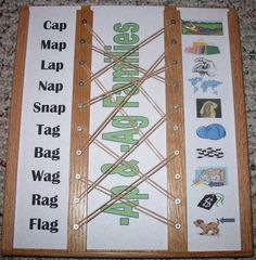 Word Family Match Up Board Bundle from Tales of a Traveling Teacher on TeachersNotebook.com -  (51 pages)  - This bundle combines the directions for building your own match up boards with the cards to slide in the boards that go with my Word Family Bonanza and Word Family Bonanza 2 products.