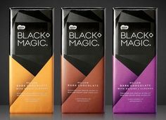 Packaging of the World: Creative Package Design Archive and Gallery: Nestlé Black Magic