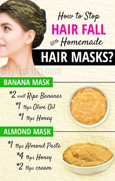 Natural Hair Masks That Really Work For Hair Fall Problems