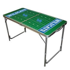 University of Kentucky Wildcats 2' x 4' Football Field Portable Table