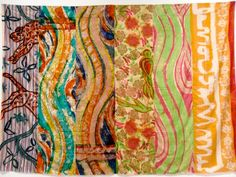 Kim MacConnel Artist Painting Tapestry Collection Applied Design Museum Of Contemporary Art Retrospective La Jolla