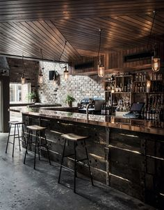 donny's bar . sydney. Pinned by Lamond Commercial Kitchens and Bars: www.lamondcaterin... Love the way we think? Then you will love working with us! Commercial kitchen and commercial bar design and install: refrigeration, kitchen gear and custom stainless steel. Phone: 1800610004 #lamondkitchens