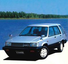 Toyota Sprinter Carib (AL25G) '1982–86