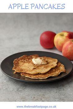 Apple Pancakes with Cinnamon Slimming World Pancakes, Milk And Eggs, Cinnamon Apples, Brunch, Snacks, Cooking, Healthy, Breakfast, Kitchens