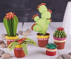 How to make paper cacti | docrafts.com