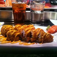 #Firecracker #sushi #roll #Takosushi  tako-sushi.com