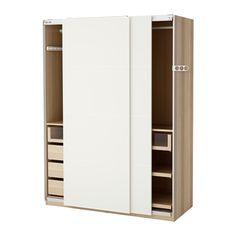PAX Armoire-penderie - 150x66x201 cm, amortisseur pour porte coulissante - IKEA