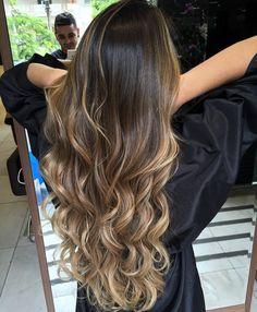 Brown Hair Balayage, Brown Blonde Hair, Hair Color Balayage, Hair Highlights, Dark Hair, Bayalage, Aesthetic Hair, Hair Color And Cut, Dye My Hair