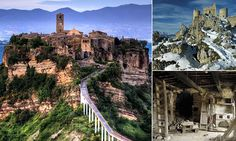 Stunning pictures of Italy's abandoned villages