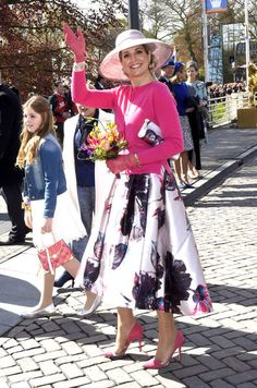La reine Maxima très stylée pour fêter Willem-Alexander