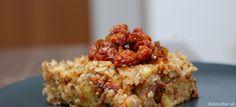 Fotorecept: Zapekané zemiaky s pohánkou a klobáskou